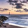 Folly Dawn with Morris Island Lighthouse