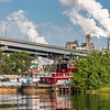 Tugboats and International Paper Mill