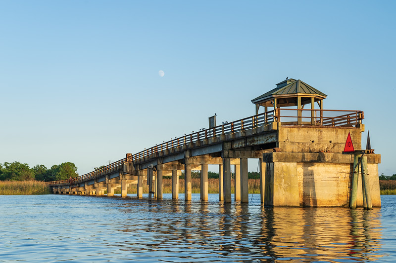 Old Bridge, now Winyah Bay Fishing & Observation Pier