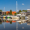 SC Maritime Museum and watercraft along Harborwalk