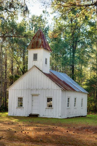 Slave Chapel, Friendfield Village, Hobcaw Barony