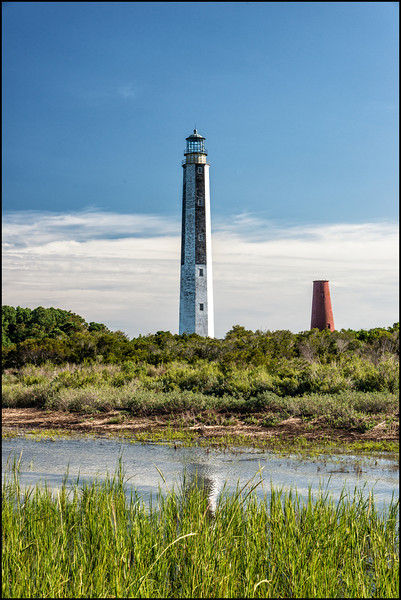 Pair of Cape Romaine Lighthouses, Cape Romaine Refuge, SC