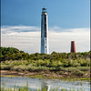 Pair of Cape Romaine Lighthouses, Cape Romaine Refuge, SC