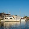 Boats, restaurants, and shops on the Georgetown Harborwalk