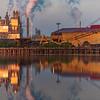 Georgetown Indutrial sites at dawn