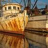 Retired Shrimp Trawlers in the Sampit River