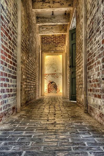 Atalaya, interior hallway