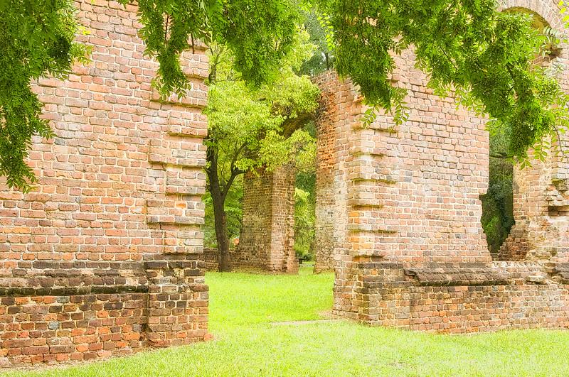 Ruins of Biggin Church, Berkeley County, South Carolina