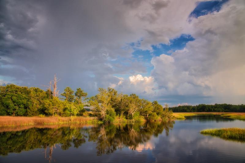 Huspah Creek, Beaufort County, SC
