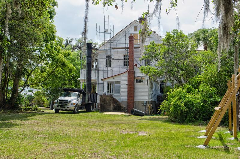 Renovation as of May 5th, 2012
