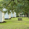Slave cabins and well, September 2011