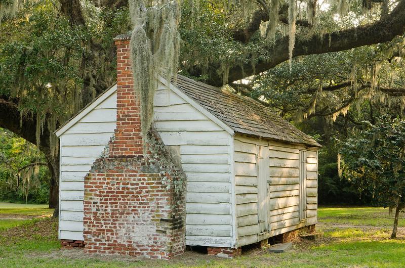 Slave cabin, September 2011