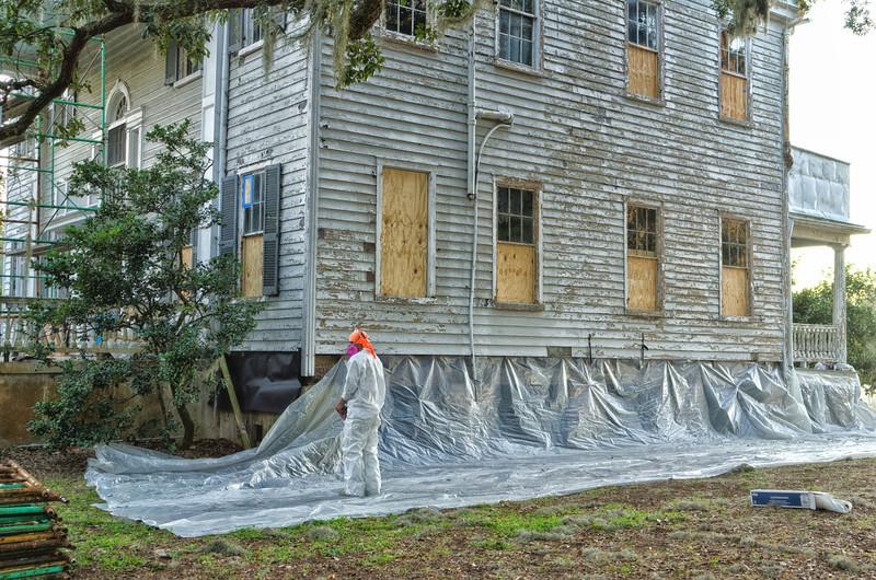 Restoration Project begins - January 2012