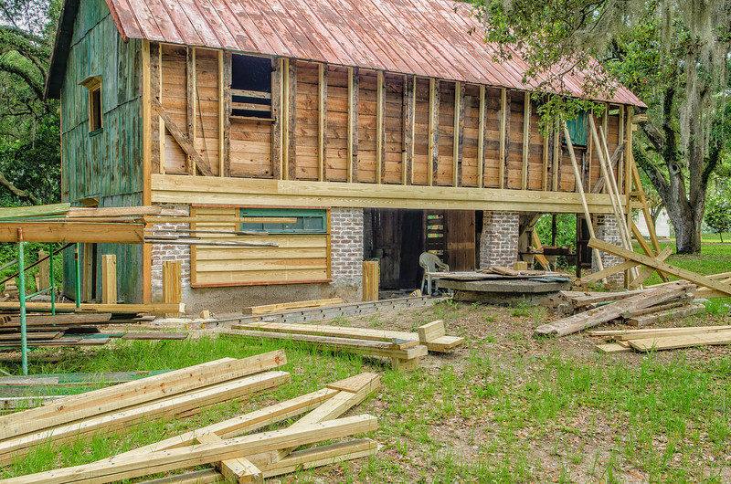 Renovation as of May 31st, 2012 - Cotton Gin
