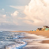 Vacation homes on the beach, Buxton, Outer Banks,NC