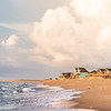 Holiday homes on the shore, Buxton, OBX