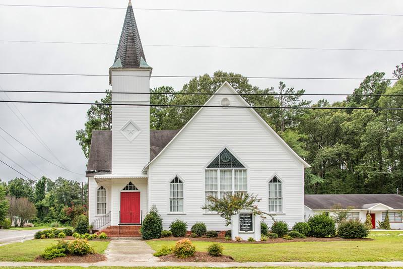 Ehrhardt Memorial Lutheran Church, Ehrhardt, SC
