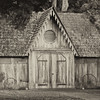 Carriage House, Woodburn Plantation (sepia)