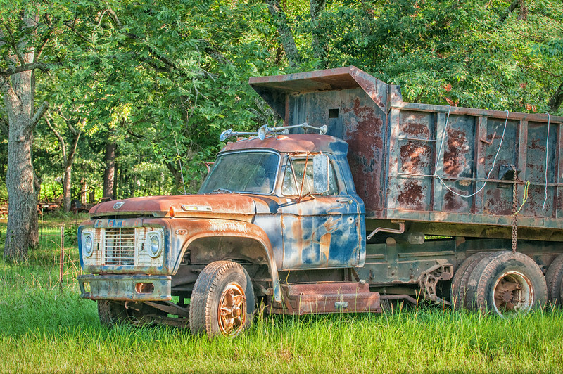 Old Workhorse truck, no longer in service