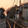 Rail crossing and Silos, Ridge Spring, SC