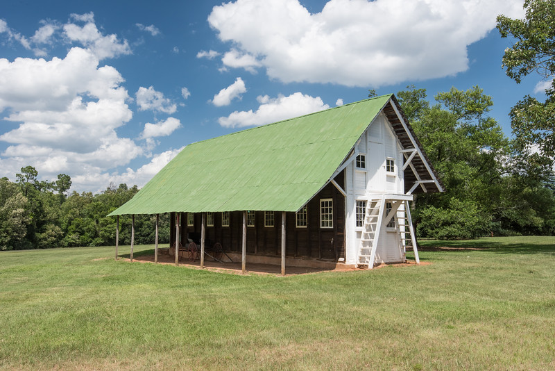 Restored stables and barn, Redcliffe Plantation