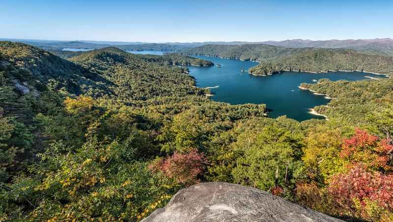 Lake Jocassee, South Carolina from Jump Off Rock