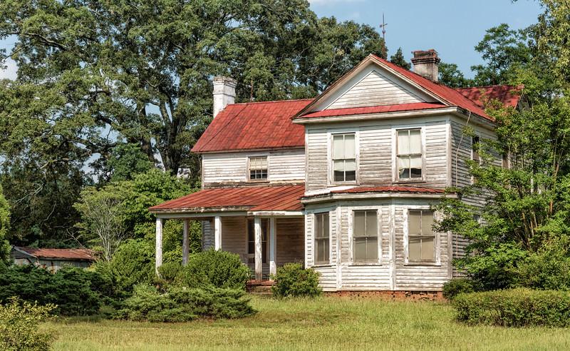 Abandoned homestead Hwy.178