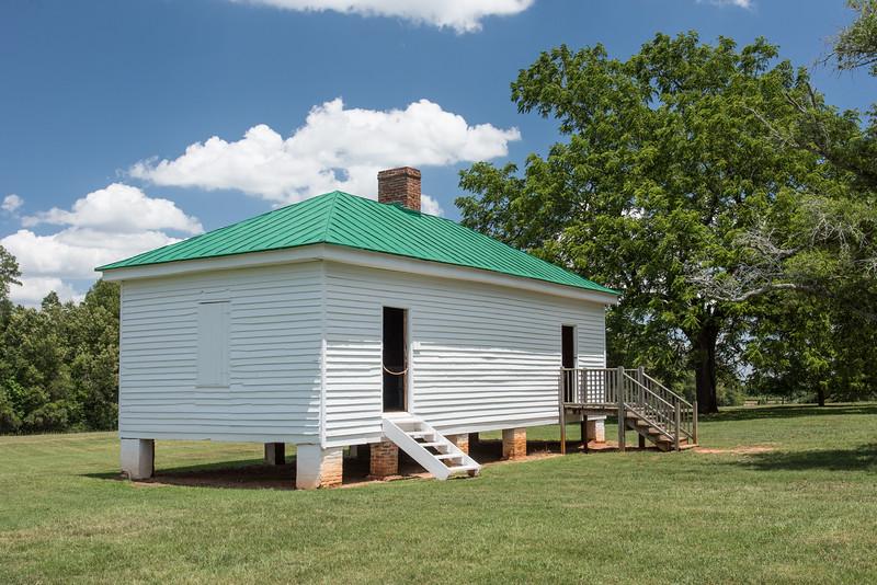 Restored Slave Dwelling, Redcliffe Plantation