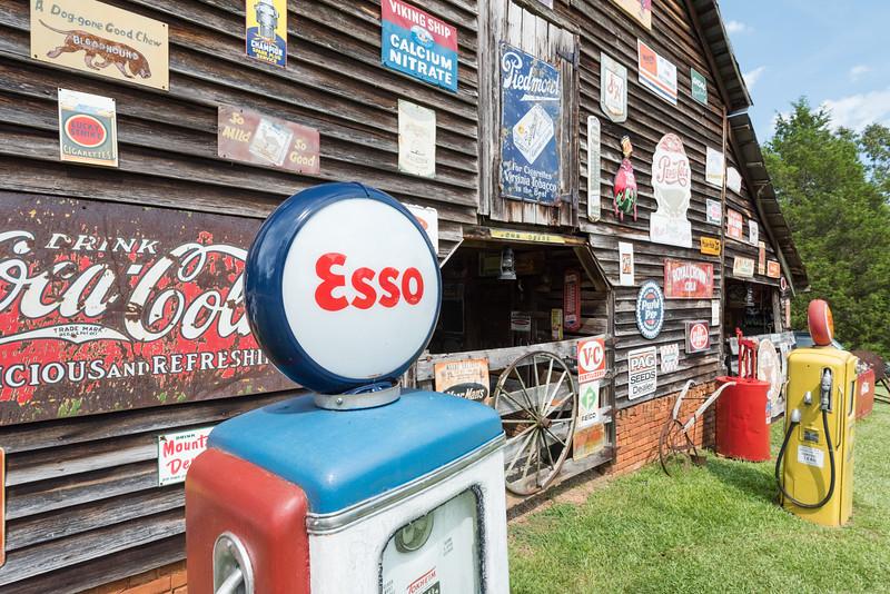 Old Esso Gas Pump, Pickens, SC