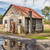 Old filling station near Jamestown, SC