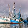 Belletrix II and Seahorse Shrimp Trawlers on Shem Creek
