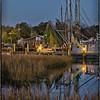 Shrimp boats docked at Shem Creek