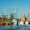 Shrimp Trawlers in Shem Creek