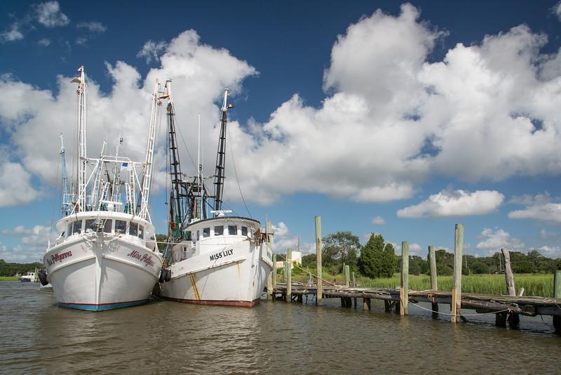 Gay Seafood Company docks, St. Helena Island