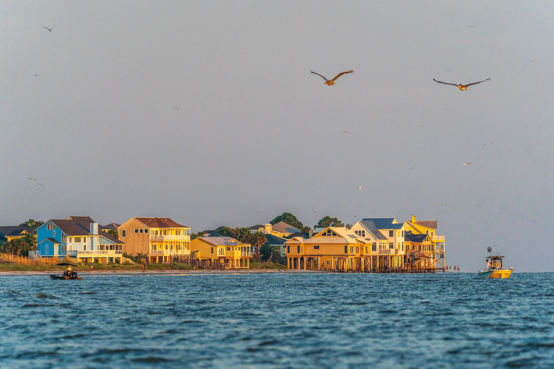 Harbor Island in the early morning