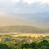 Brevard Valley and Blue Ridge Mountains