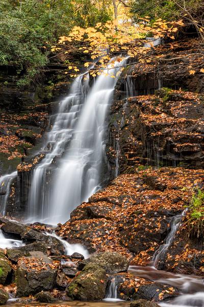Soco Falls, Highway 19, NC