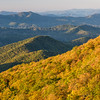 Blue Ridge Parkway fall views