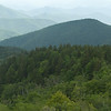 Panorama from Cowee Mountains Overlook - Mile marker 430 (+-)