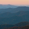 Dawn on the Blue Ridge Parkway
