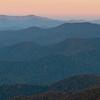 Dawn on the Blue Ridge Parkway