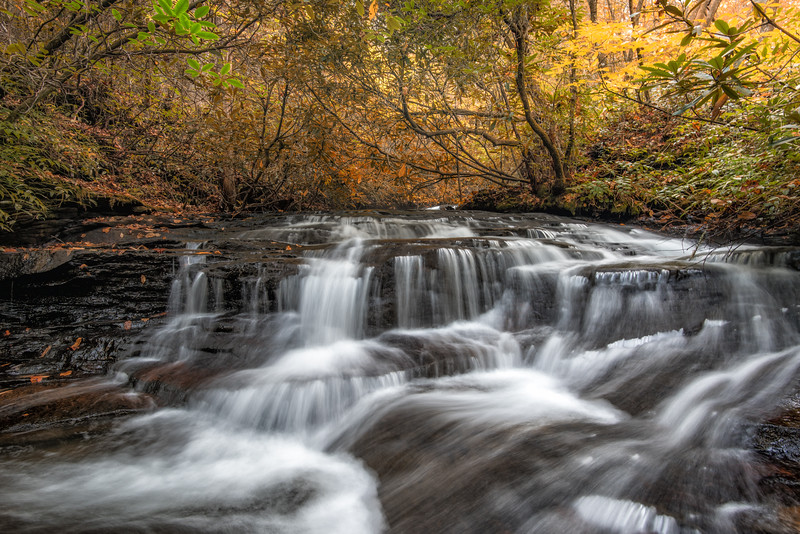 Middle Creek Falls, Connestee
