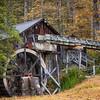 Old Water Wheel Mill, Gwynn Valley Camp, Brevard, NC