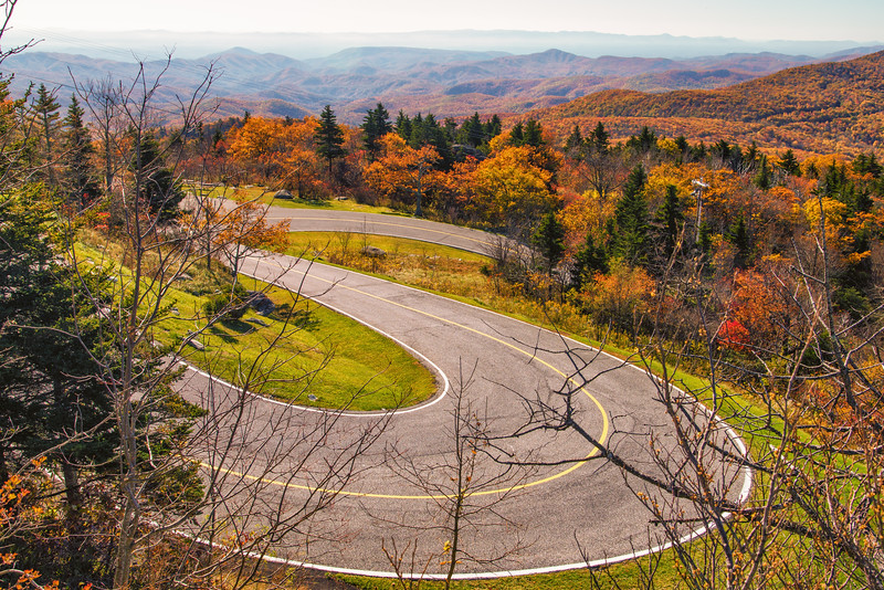 Fall from Grandfather Mountain