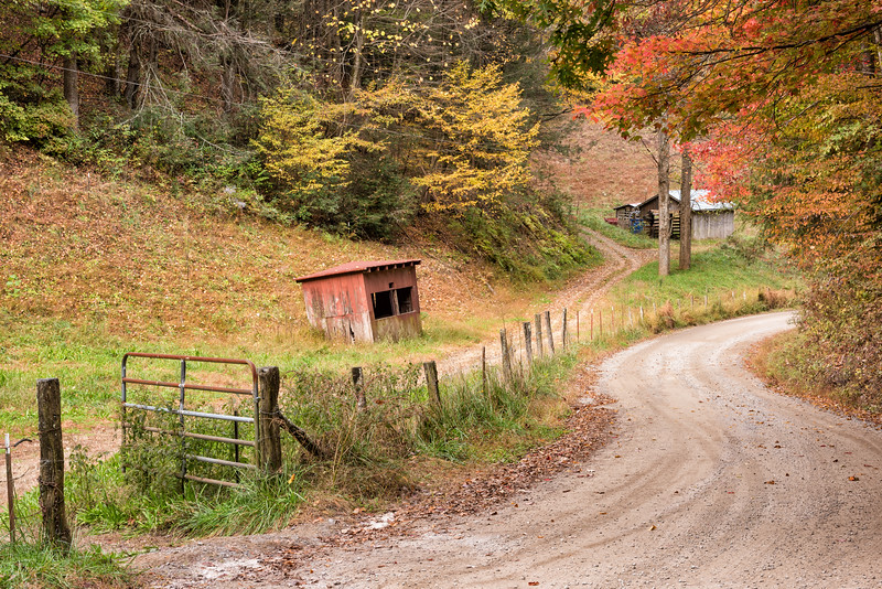 Section of the Old Cataloochee Turnpike, NC