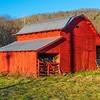 Red barn on Highway 280