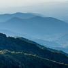 Layers of Blue Ridge Mountains