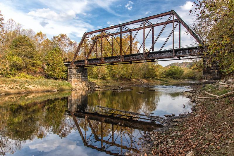 Iron Rail Bridge, Murphy, NC