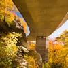 Under the Linn Cove Viaduct, Blue Ridge Parkway