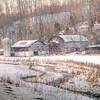 Farm in winter, NC